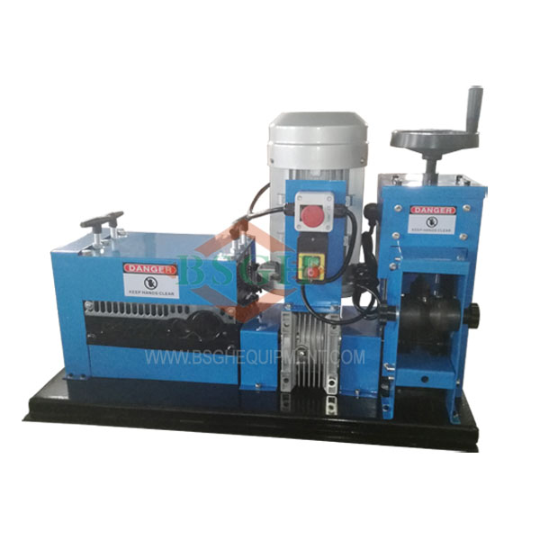 BS-4 SMS-4 automatic cable wire stripping recycling machine exporter ...